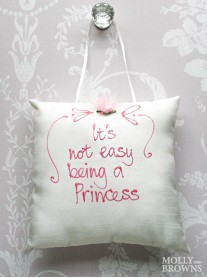 Its Not Easy Being A Princess - Cushion