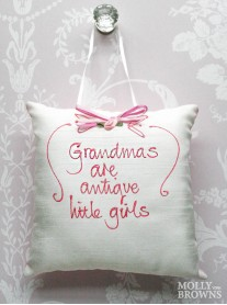 Grandmas Are Antique Little Girls - Cushion