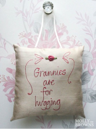 Grannies Are For Hugging - Cushion