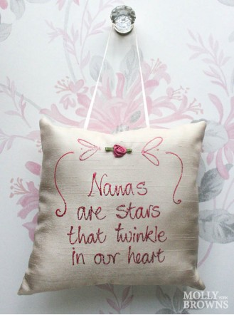 Nanas Are Stars That Twinkle In Our Hearts - Cushion