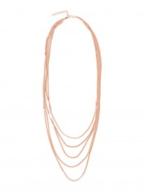 Multi-Strand Necklace - Rose Gold
