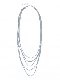 Multi-Strand Necklace - Silver