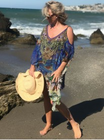 Bora Bora - Cold Shoulder Kaftan