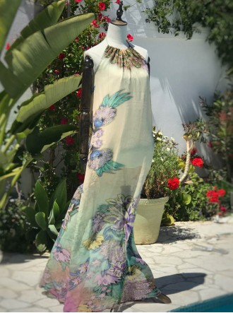 Hawaii - Maxi Dress