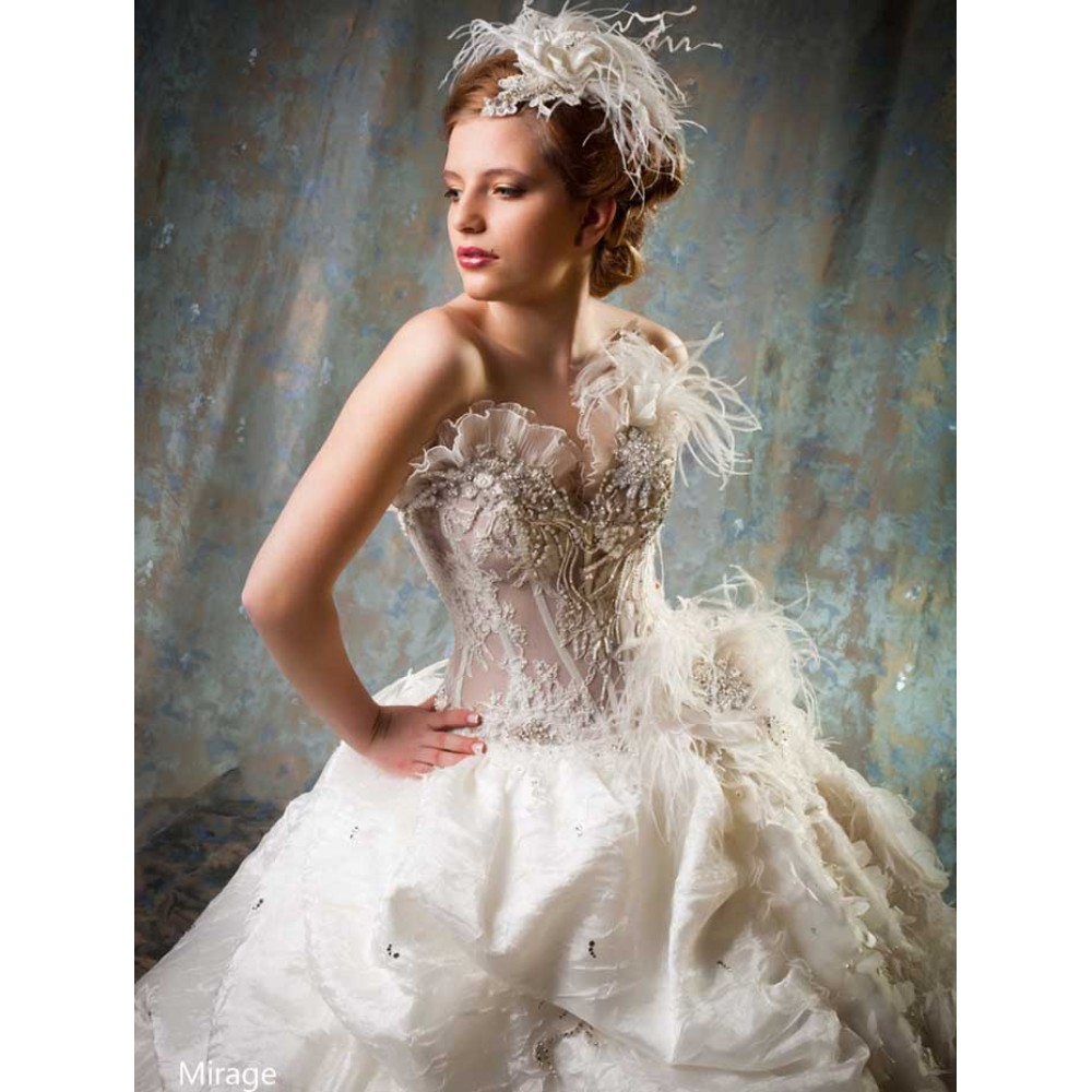 Mirage - Wedding Dress - Farage Paris Dresses by Molly Browns