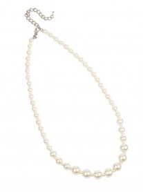 Classic Graduated Pearl Necklace - Pearl