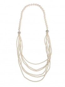 Magnetic Multi-Way Pearl Necklace - Pearl