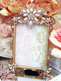 Large Antique Gold Picture Frame 5 x 4