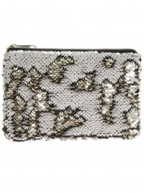 Champagne/Cream Sequinned Purse