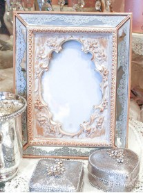 Decorative Ornate Mirror Photo Frame