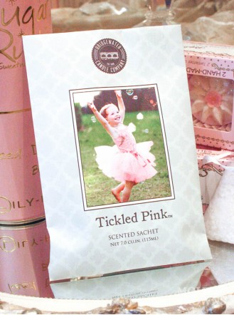 Tickled Pink - Scented Sachet