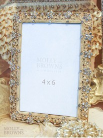Antique Cream Square Picture Frame 6 x 4