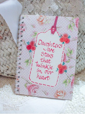 Floral Notebook - Daughter