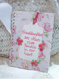 Floral Notebook - Granddaughter