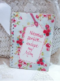 Floral Notebook - Mum