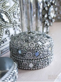 Small Sparkly Pill Box
