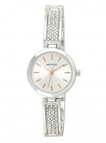 Diamante Silver Watch - Silver Strap