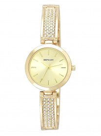 Diamante Gold Watch - Gold Strap