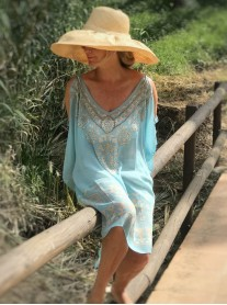Oasis - Cold Shoulder Kaftan