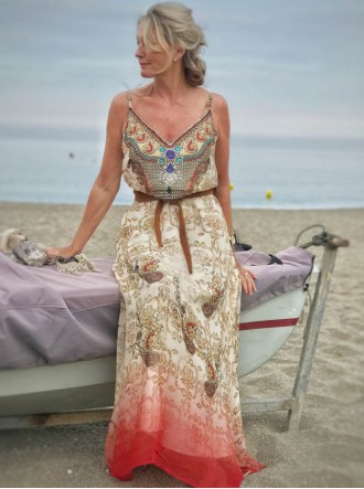 Tanzania - Belted Beach Dress