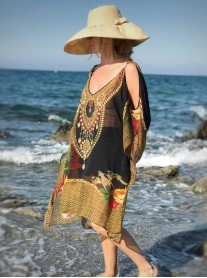 Shangri-La - Cold Shoulder Kaftan