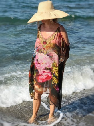 Maui - Cold Shoulder Kaftan