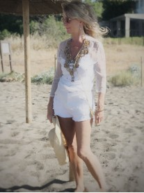 Embellished Beach Cover-Up