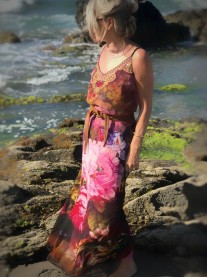 Maui - Belted Beach Dress