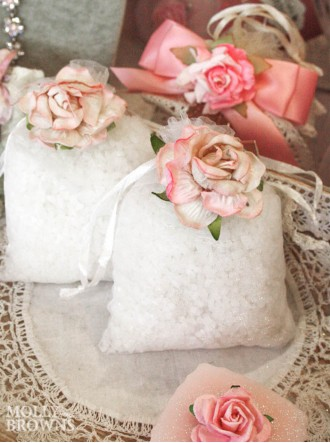 Fragrant Bath Crystals - Blush