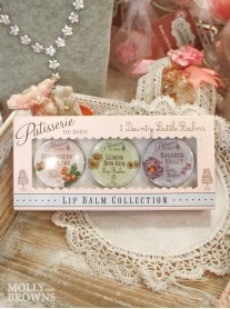 Gift Set of Three Lip Balms