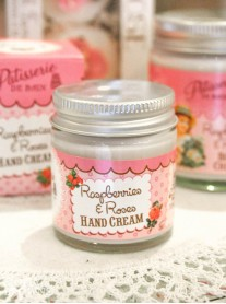 Raspberries & Roses Hand Cream
