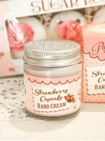 Strawberry Cupcake Hand Cream