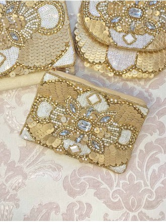 Gold Embellished Purse