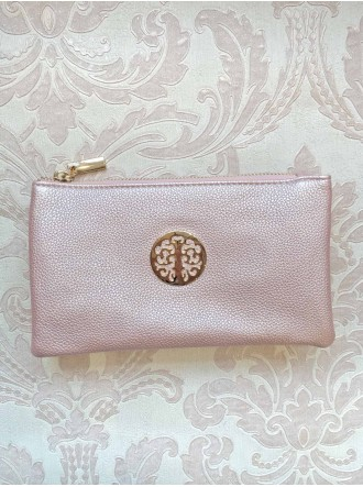 Pink Metallic Purse/Bag