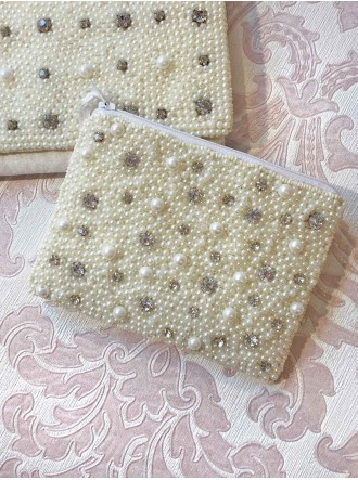 Pearl and Diamante Purse