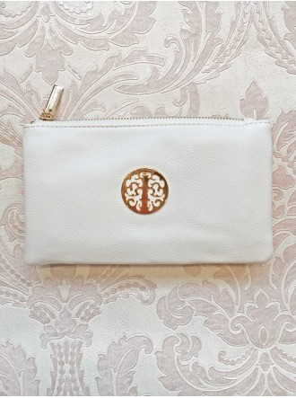 White Gold Purse/Bag