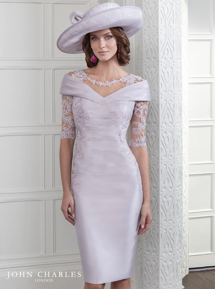 26416A - Pink Pearl Dress (John Charles)