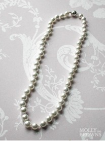 Small Pearl Necklace - Ivory