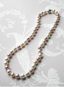 Small Pearl Necklace - Multi