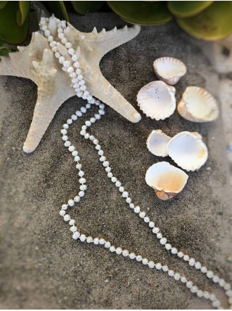 Sea Pearls Necklace - Ivory
