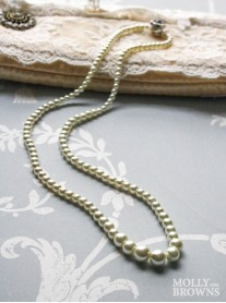 Ivory Pearl Necklace