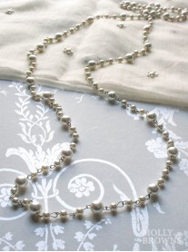 N2612 Long Pearl Necklace