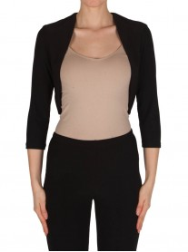 182131 Bolero - Black / Powder Pink / Midnight (Joseph Ribkoff)
