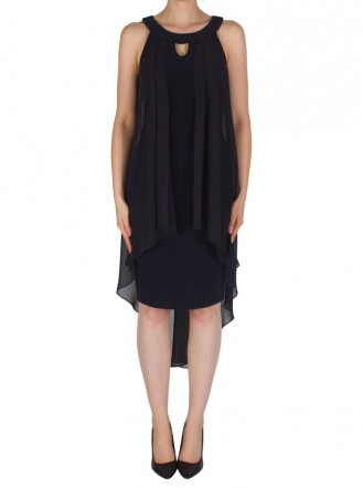 182265 Dress - Midnight Blue (Joseph Ribkoff)