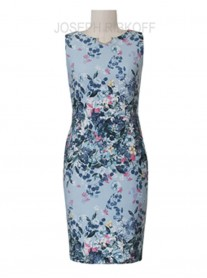 182649 Dress - Blue/Multi (Joseph Ribkoff)