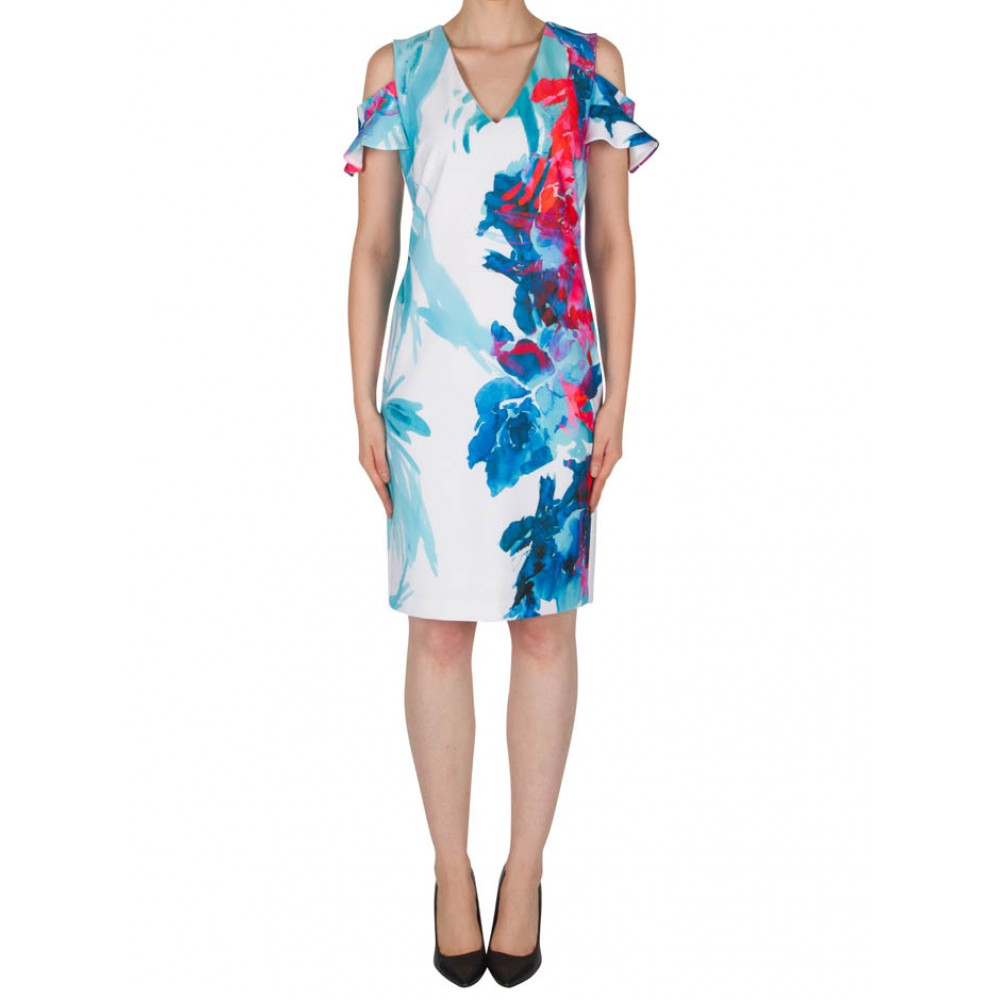 Multi Dress (Joseph Ribkoff) - 182737 by Molly Browns