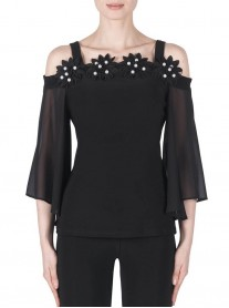 183296 Top - Black (Joseph Ribkoff)