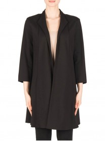 183350 Coat - Black (Joseph Ribkoff)