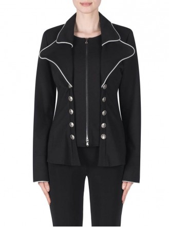 183355 Jacket - Black (Joseph Ribkoff)