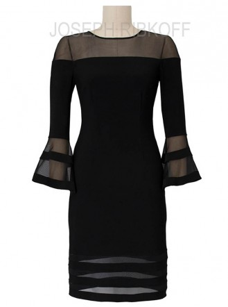 183417 Dress - Black (Joseph Ribkoff)